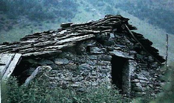 Hütte der Waldenser
